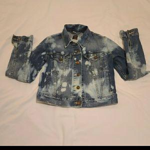 Levi's Acid Wash Jean Jacket Sz Small